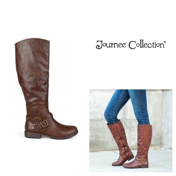 b3e56f2cba64 Journee Collection April Womens Tall Boot